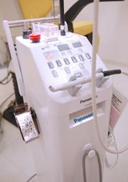 レーザー治療画像